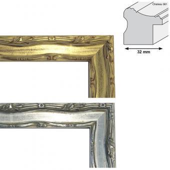 Holz-Bilderrahmen CHATEAU 361 Sonderzuschnitt