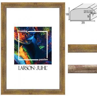 Holz-Bilderrahmen Clever Line 2 - 3,5 - Sonderzuschnitt