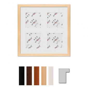 "4er Galerierahmen ""Lund"", 30x30 cm - 10x10 cm"