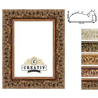 Barock Holzbilderrahmen Faenza Maßanfertigung