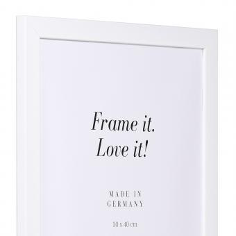 Aktionsrahmen Top Pro 10x15 | weiß | Normalglas
