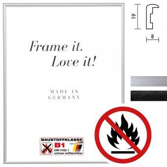 """Zertifizierter Standard B1 Brandschutzrahmen """"Econ rund"""""""