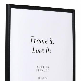 Holzrahmen Avignon 20x30 | schwarz | Normalglas