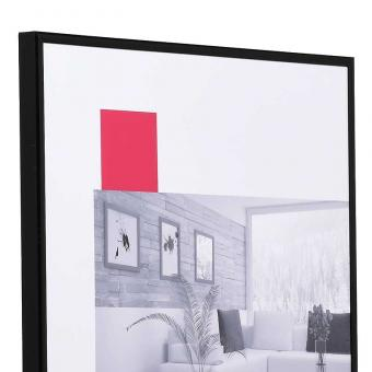 """Kunststoffrahmen """"Art"""" 40x60   schwarz   Normalglas"""