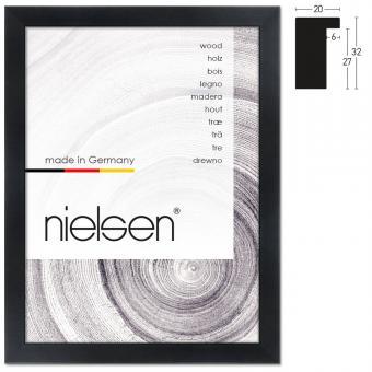 holzrahmen sonderzuschnitt blackwoods 20x32 schwarz leerrahmen ohne glas. Black Bedroom Furniture Sets. Home Design Ideas