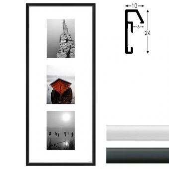 Galerie-Bilderrahmen Junior 3 Bilder