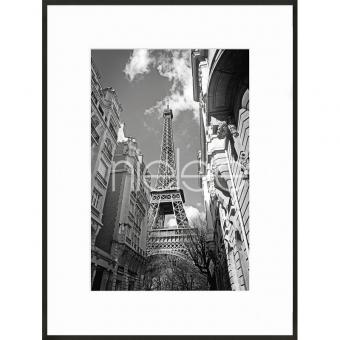 """Gerahmtes Bild """"Eiffel Tower"""" mit Alurahmen C2"""
