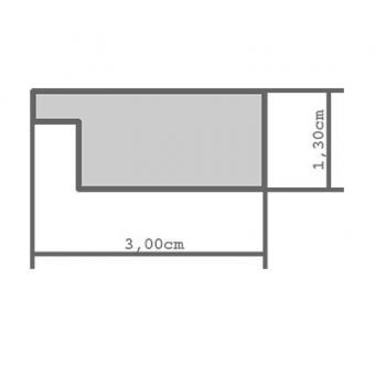 holzrahmen zuschnitt varone wei leerrahmen ohne glas r ckwand online kaufen. Black Bedroom Furniture Sets. Home Design Ideas