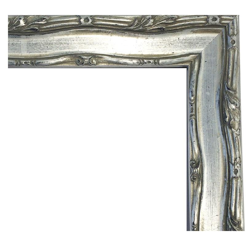 McRahmen.de | Holz-Bilderrahmen CHATEAU 361 10x15 cm | Silber ...