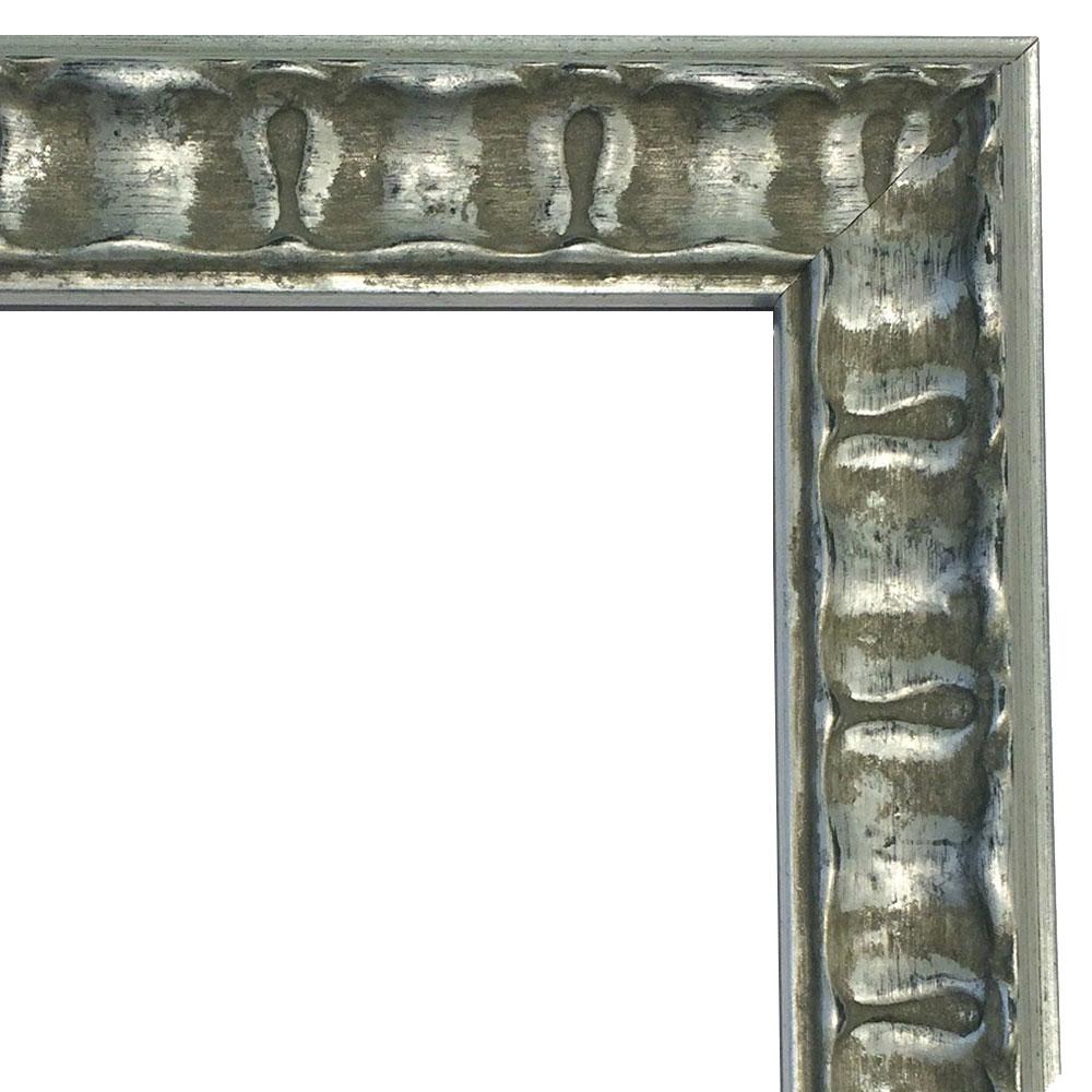 McRahmen.de | Holz-Bilderrahmen CHATEAU 371 18x24 cm | Silber ...