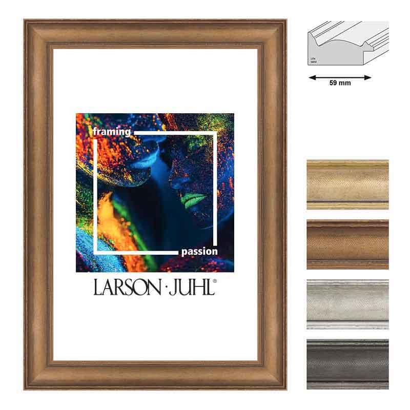 holz bilderrahmen lille 59 10x15 cm gold normalglas online kaufen. Black Bedroom Furniture Sets. Home Design Ideas