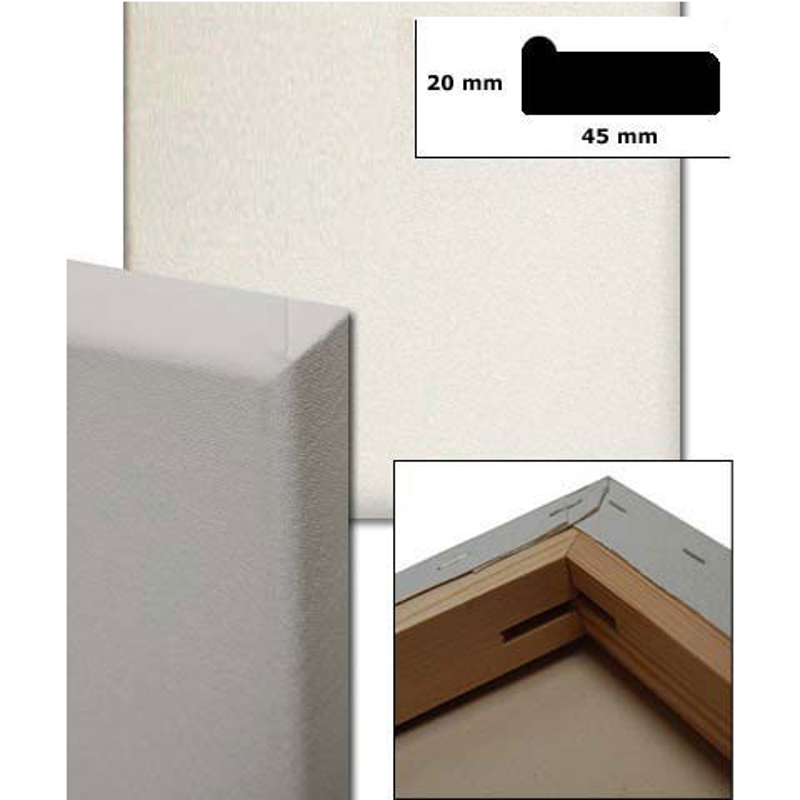 bespannte keilrahmen 18x24 cm wei online kaufen. Black Bedroom Furniture Sets. Home Design Ideas