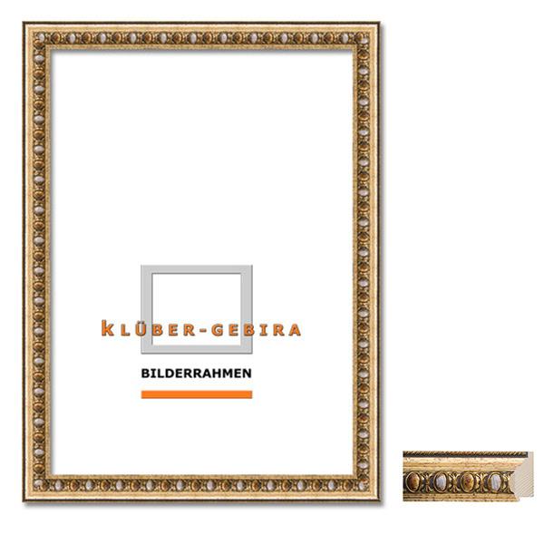 Bilderrahmen verzieren ornamente  McRahmen.de   Barockrahmen Valdemoro 70x100   Gold, verziert, mit ...