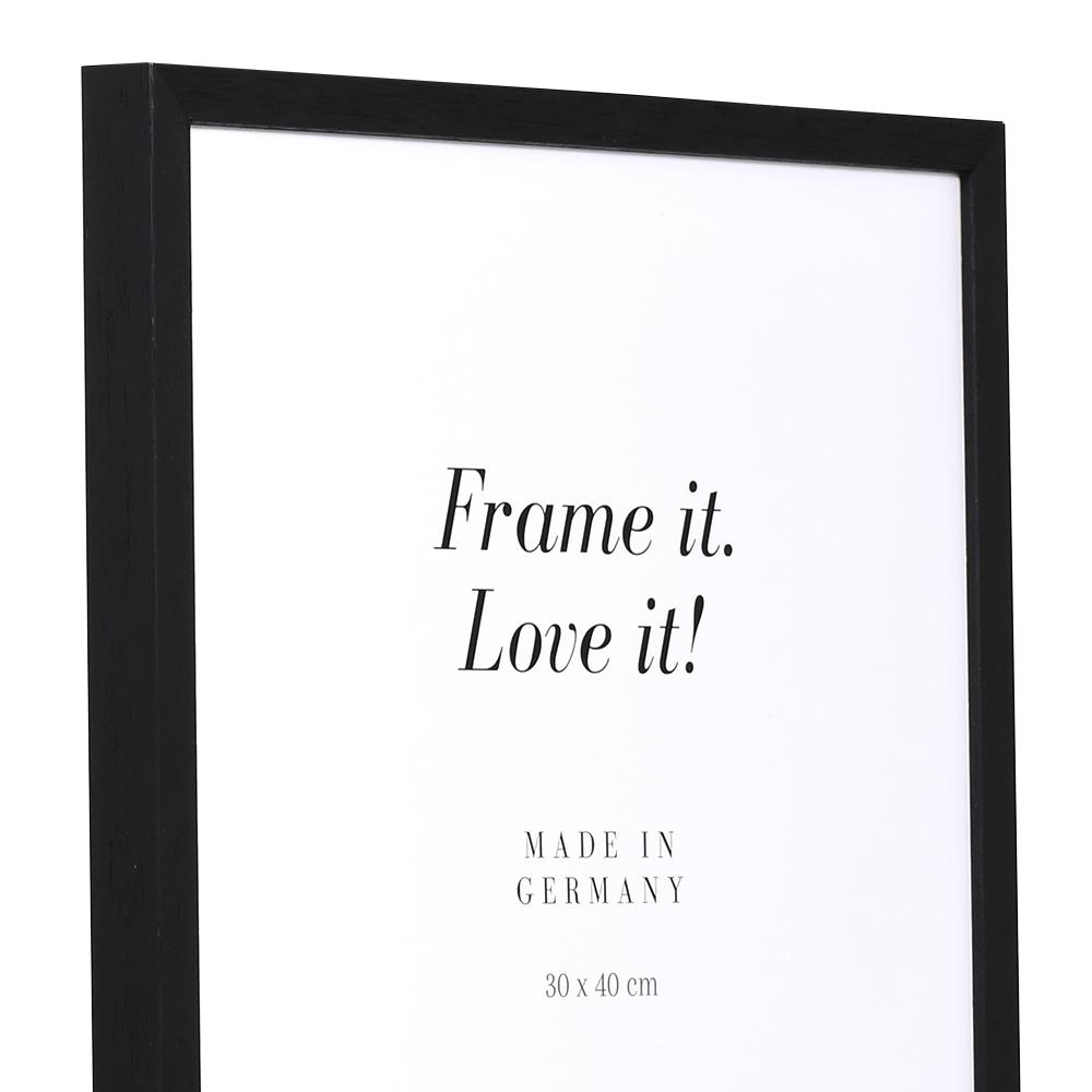 holzrahmen burgund 9x13 schwarz leerrahmen ohne glas r ckwand online kaufen. Black Bedroom Furniture Sets. Home Design Ideas