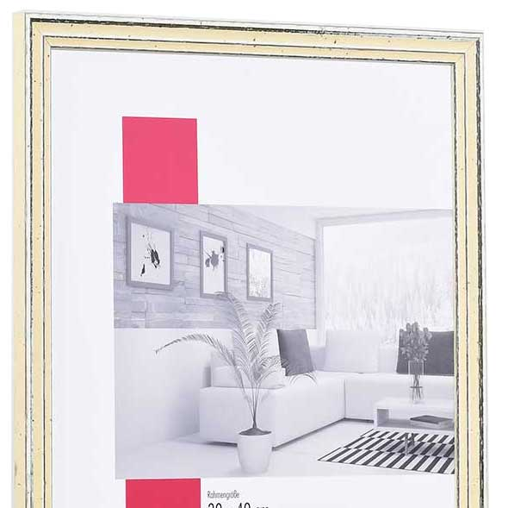 holzrahmen dijon 9x13 wei normalglas online kaufen. Black Bedroom Furniture Sets. Home Design Ideas