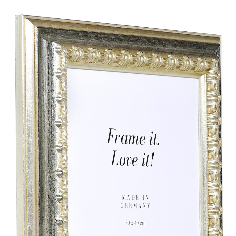holzrahmen orsay ma anfertigung silber leerrahmen ohne glas r ckwand online. Black Bedroom Furniture Sets. Home Design Ideas