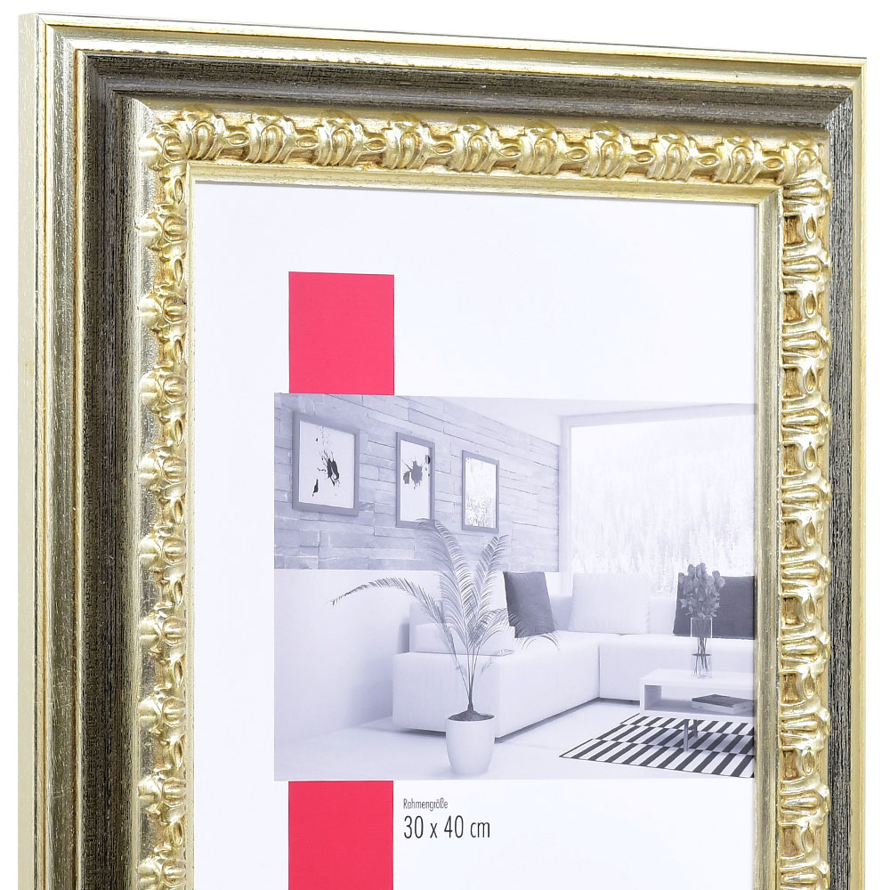 barockrahmen orsay 18x24 silber normalglas online kaufen. Black Bedroom Furniture Sets. Home Design Ideas