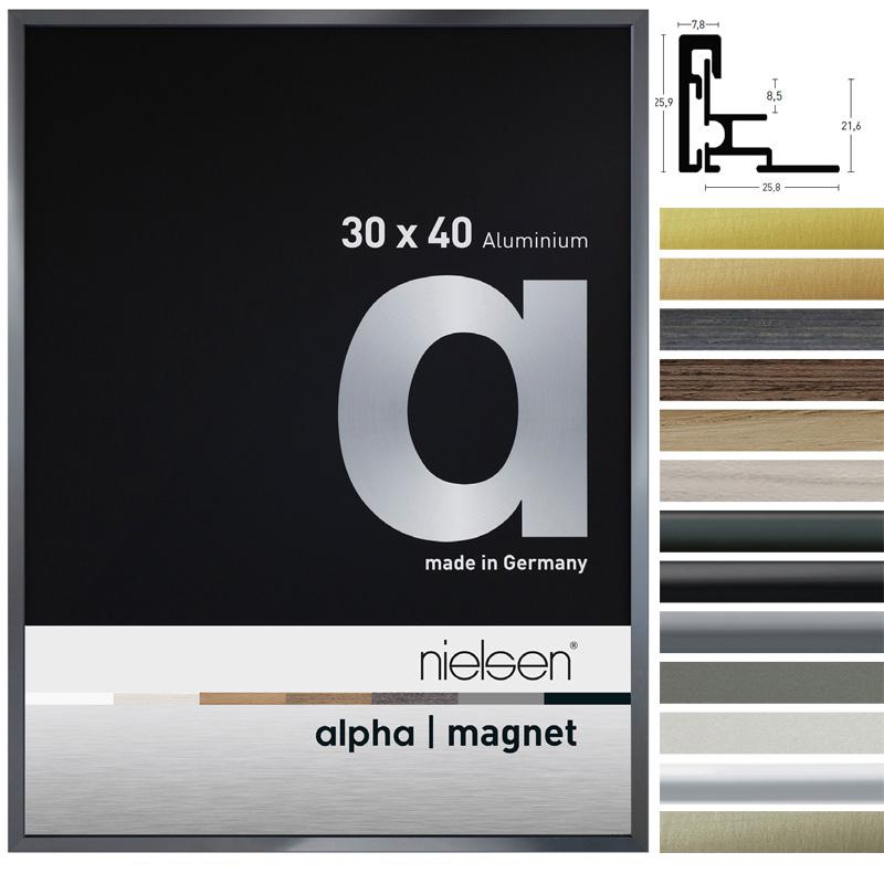 alu bilderrahmen alpha magnet online kaufen. Black Bedroom Furniture Sets. Home Design Ideas