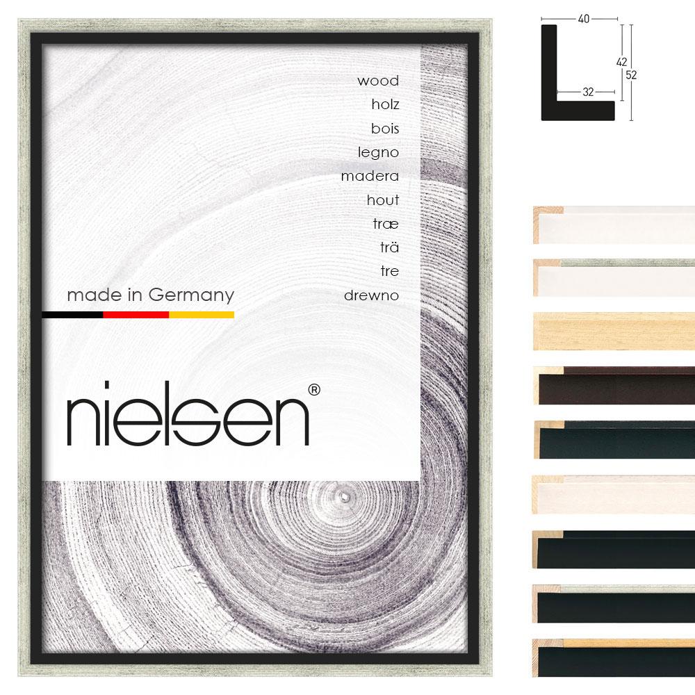 schattenfugenrahmen studio 40 21x29 7 cm a4 wei lasiert leerrahmen ohne. Black Bedroom Furniture Sets. Home Design Ideas